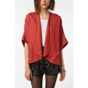 UO Pins & Needles Red Kimono